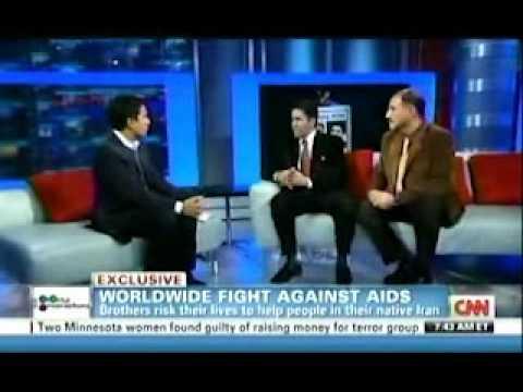 Doctors Kamiar and Arash Alaei on CNN