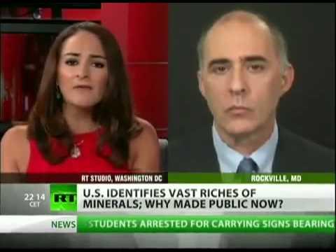 Paul Jay on RT - US knew Afghan bonanza in '07