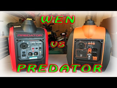 Wen 56200i vs Predator 2000w Generator Review