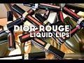 Dior Rouge Liquid Lipstick Lip Swatches mp3