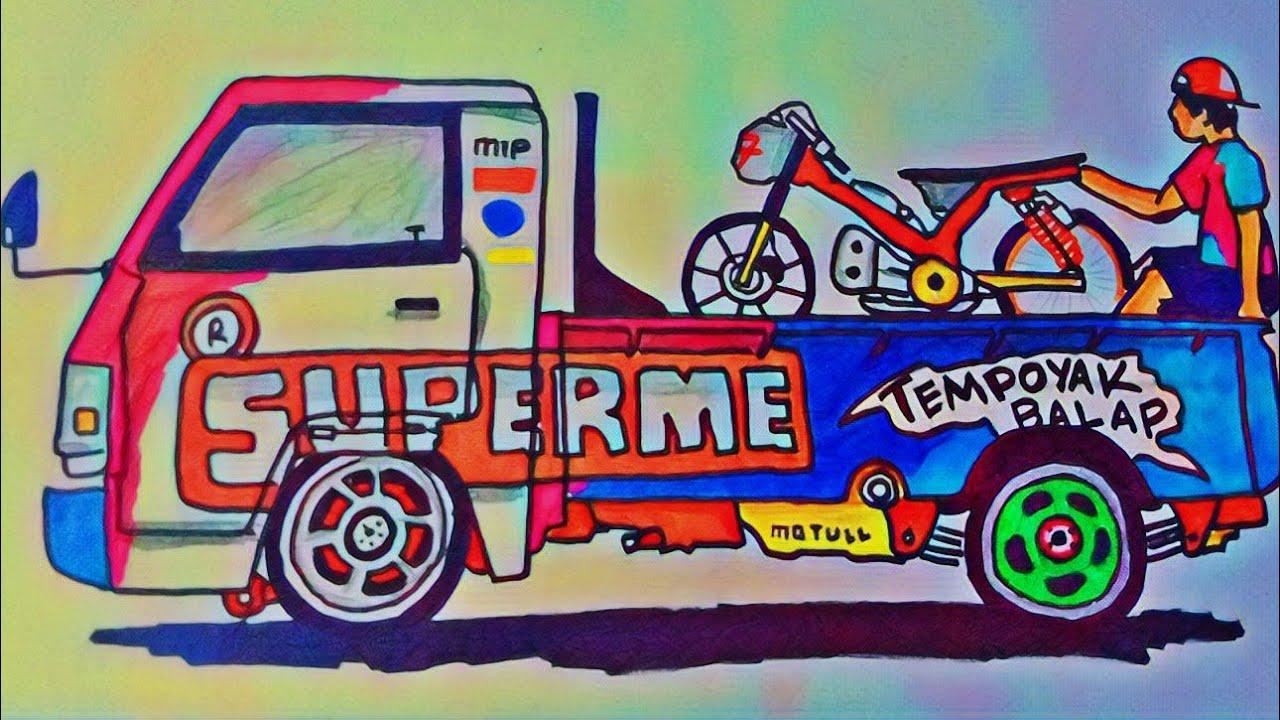 mobil up gambar kartun mewarnai gambar mobil up lucu untuk anak paud atau tk