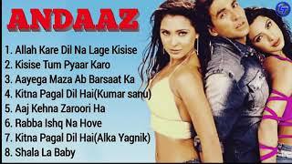 Andaaz Movie All Songs   Juckbox   Akshay Kumar, Priyanka Chopra & Lara Dutta   Full Audio Songs  