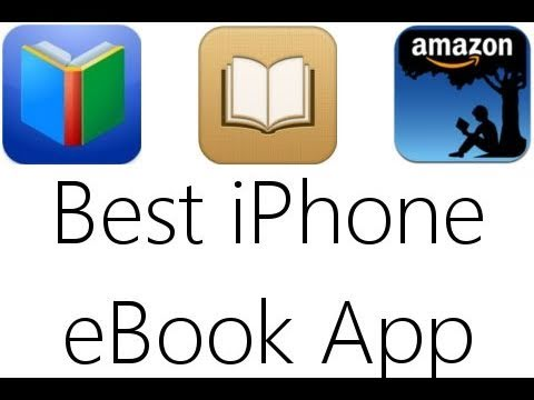 best iphone ebook app ibooks vs google books vs kindle youtube. Black Bedroom Furniture Sets. Home Design Ideas