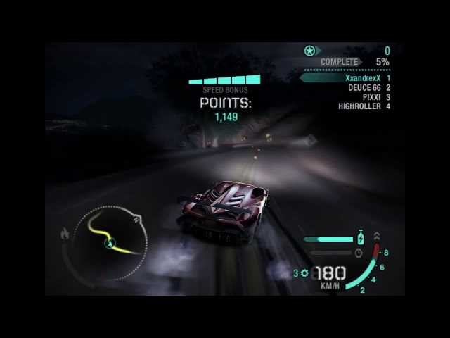 NFS Carbon: Mods de carro e Drift Travel Video