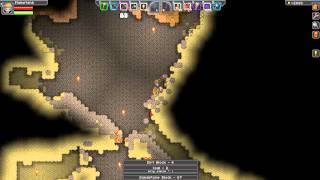 Let's Play Starbound! #33 Finding Diamonds and Gold!