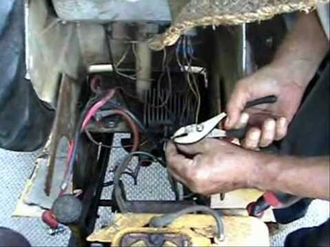 Replacing A Solenoid On A St16 Sears Tractor Youtube