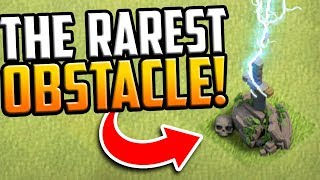 The RAREST Obstacle NO Gems Can Buy in Clash of Clans!