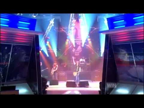 Paul Stanley live on The Footy Show Australia April 13 2007