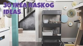 IKEA RASKOG TROLLEY : 30 IDEAS How to utilize this awesome trolley