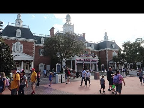 Adventures Around The World Showcase At Disney! | Taking A Closer Look At The America Pavilion