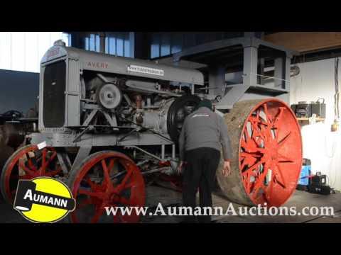 Avery 25-50 Tractor - Oldtimer Muller Traktor Auktion