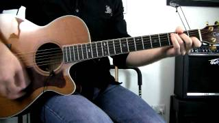 Push - Matchbox 20 (Rob Thomas) - Acoustic Guitar Cover - How To Play