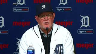 Gardenhire introduced as Tigers manager | ESPN