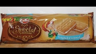 Keebler Special Edition Toasted Coconut Taste Test Food Review