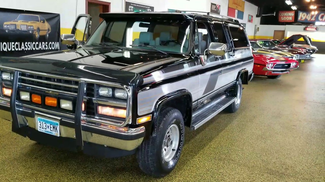 1989 Chevrolet Suburban 4x4for