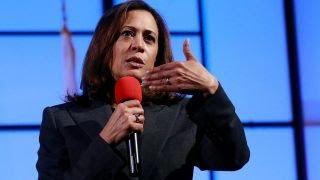 Senator Kamala Harris slams critics of 'identity politics'