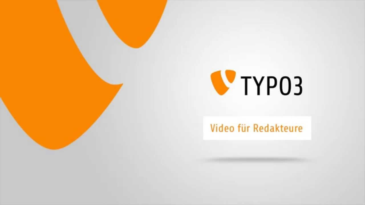 Youtube Video: TYPO3 6.2: Schnelleinstieg / Crash course