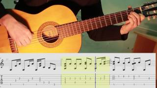 Californication Red Hot Chili Peppers.Guitar fingerstyle.Notes.Tabs.ноты и табы.Guitar lesson.
