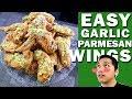 Garlic Parmesan Chicken Wings- Sobrang EASY gawin!