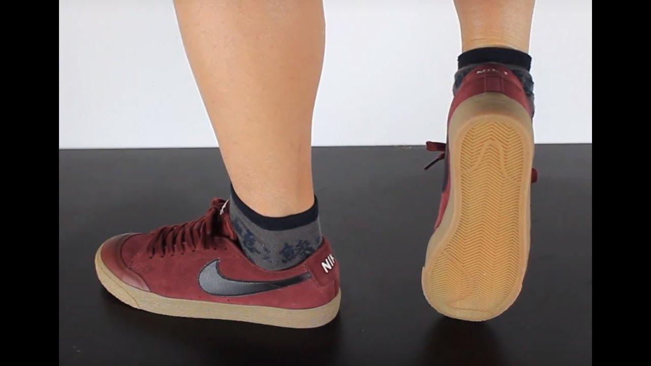 Nike SB Blazer Zoom Low XT Dark Team Red Black | Footshop