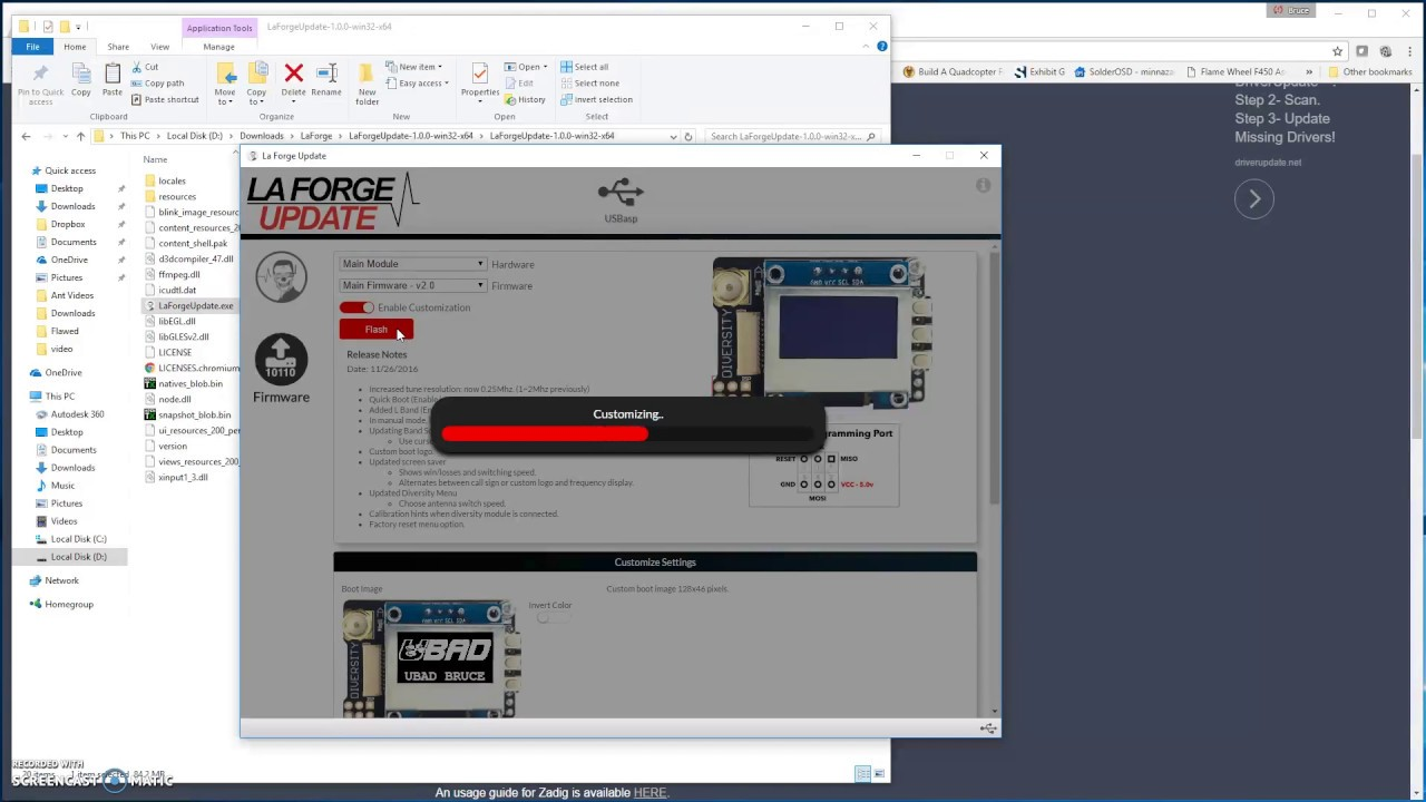 LaForge Configurator Tutorial for v1/v2/v3 ***NOT V4 ...