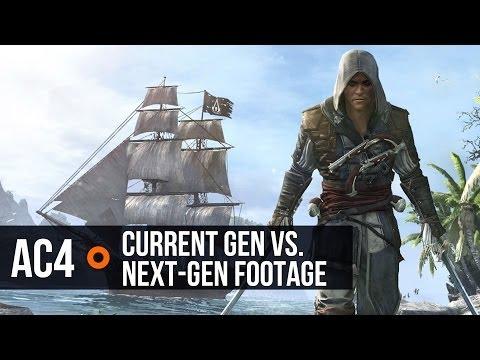 Assassin's Creed 4: Current vs. Next-gen Comparison