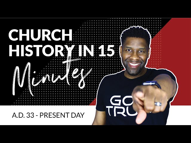 Church History EXPLAINED in FIFTEEN MINUTES! | A.D. 33 - PRESENT