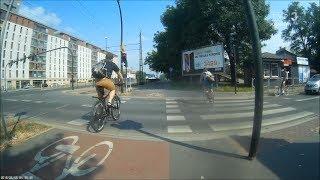 Jedź bezpiecznie odc. 746 (konflikt na przejeździe rowerowym)