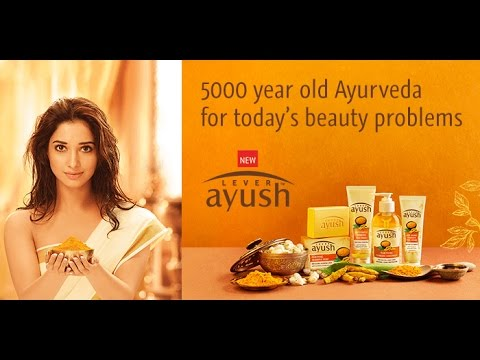 Tamannaahs Lever Ayush Beauty Products TVC