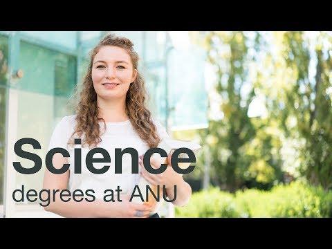 Study science at Australia's national university