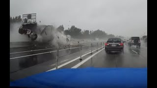Near Miss Accident on 91 Freeway - Westbound January 16, 2019 approximately 10:30 am
