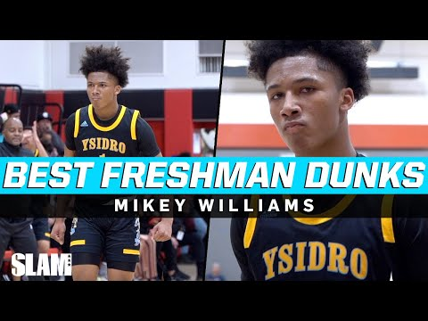 Mikey Williams BEST DUNKS of Freshman Year! 😱🤯