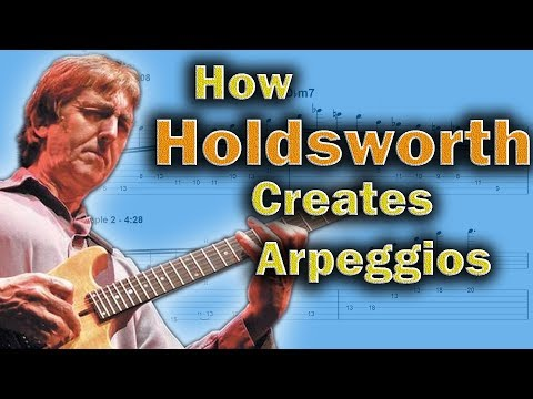 Allan Holdsworth - This Is How He Uses Arpeggios In A Solo