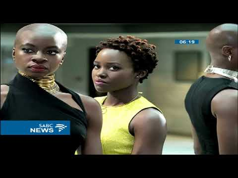 The Black Panther finally opened at Ster-Kinekor film theatres
