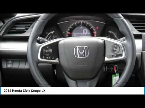 2016 Honda Civic Coupe HNR1278