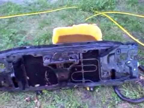 parting out 2000 gmc s10   radiator core support  YouTube