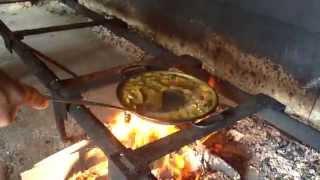 パエリアを薪で焚いて作る 【 スペイン・バレンシア紀行】