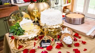 Home & Family - How To Make A 6-layer Coconut Lemon-filled Cake