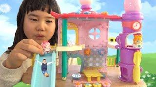 ここたま おおきなここたまハウス ヒミツのここたま おうち おもちゃ cocotama Dollhouse thumbnail