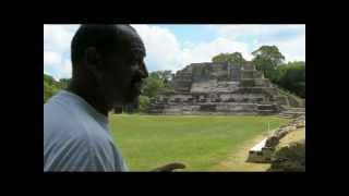 ALTUN HA part 2 Exploring Mayan Pyramids in Belize with Fritz Stammberger