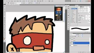 How to draw a Minecraft Skin - Photoshop Tutorial