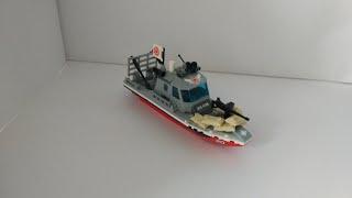 Обзор Лего катера для зомби апокалипсис. Лего техника