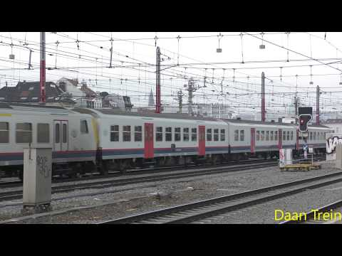 M4 met HLE 21 52 vertrekken uit Brussel Zuid