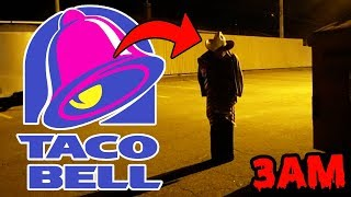 DONT GO TO AN ABANDONED TACO BELL AT 3AM OR TACO BELL GHOST WILL APPEAR | TACO BELL GHOST FOUND