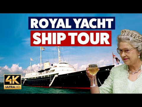 Queen Elizabeth II's Royal Yacht - Full Tour