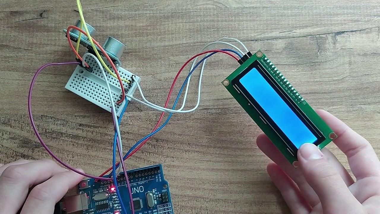 ARDUINO İLE I2C MODÜLLÜ LCD EKRAN VE HC-SR04 MESAFE SENSÖRÜ KULLANARAK DİJİTAL METRE YAPIMI