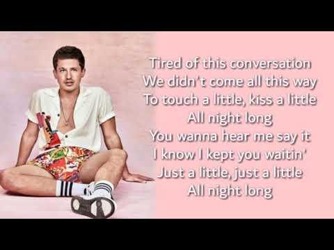 Charlie Puth - girlfriend // lyrics