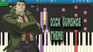 Dick Gumshoe theme cover piano (Synthesia)