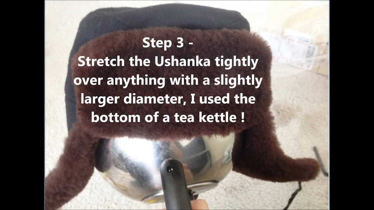 How to stretch the hat 49