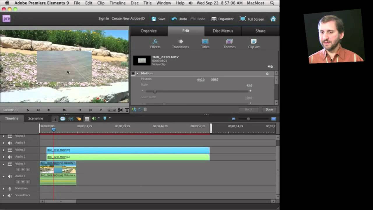 Adobe Premiere Elements for Mac (MacMost Now 454) - YouTube